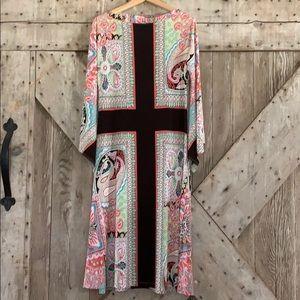 Knit bell sleeve dress